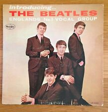 "INTRODUCING THE BEATLES - Vee-Jay VJLP1062, 12"" Mono LP w/ Bracket Logo"