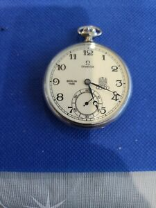 Omega Pocket Watch 1936 Olympics