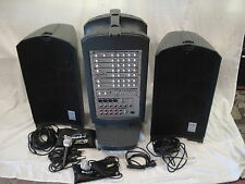 SoundArt QUATTRO-6250 Portable PA/Karaoke System + Mics