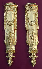 Two metal ormolu corners #8.Furniture legs,mounts,decoration
