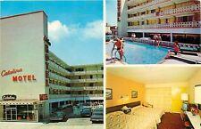 Atlantic City New Jersey~Catalina Barbizon Motel~Tropical Pool~Postcard
