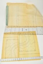 3 Vintage Engineering Drawings Mariposa Ave Topographical Maps Prints Sacramento