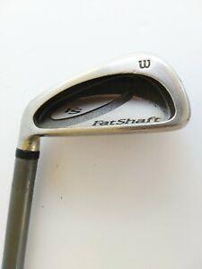 """Wilson FS 7 Iron - Wilson Fat Shaft R-Flex Graphite Shaft - LH - 37 1/2"""""""