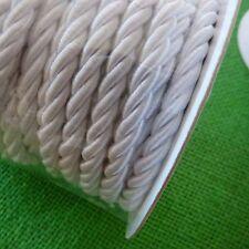 Satin Rope Ivory Sheen Craft Decorative Trim Sew Glue Ice on Wedding Cake Cord