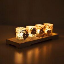 Markenlose Deko-Kerzenständer & -Teelichthalter im Landhaus-Stil aus Glas