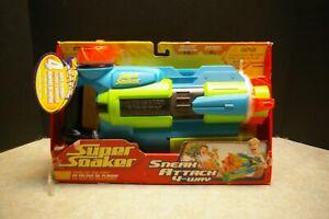 NEW 2007 LARAMI HASBRO SUPER SOAKER SNEAK ATTACK 4-WAY WATER GUN