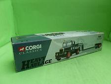 CORGI TOYS 16701 SCAMMELL LOW LOADER WREKIN TRUCK TRAILER - BOX ONLY-