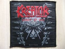 Patch ricamate-Kreator-Enemy of God-Tankard-Destruction-HEADHUNTER