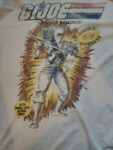 Vintage G.I. Joe Storm Shadow T-shirt Men's XL 2X