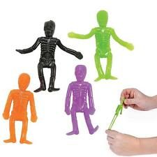 Halloween Neon Stretchable Skeletons Party Favors (8 pieces)