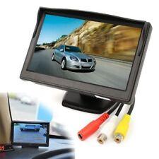 """5"""" TFT LCD Car Monitor Screen HD Digital For Car Rear View Camera 12V-24V"""
