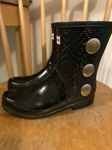 Ladies Hunter Ankle Boot Wellies - Size 5 - Excellent Condition