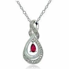 Topaz Ruby Fine Necklaces & Pendants