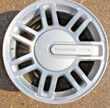 """USED OEM 16"""" GM Hummer H3 06-10 Rim Wheel Silver Aluminium hub cap 16x7.5 Jx390"""