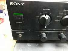 Sony Vollverstärker leicht defekt