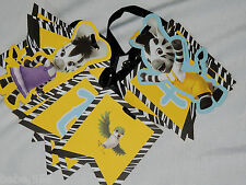 NEW ~ZOU ZEBRA~ 1-PAPER BANNERS -  8 FT. LONG -PARTY SUPPLIES