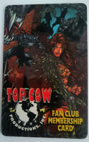US TOP COW MEMBERSHIP CARD DYNAMIC FORCES DF WITCHBLADE MICHAEL TURNER ASPEN NEW