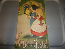 VINTAGE HANSEL AND GRETEL ILLISTRATED CHILDREN'S BOOK PAPERBACK