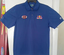 Red Bull OMSE Ford Bluebeam 2014 RallyCross Racing Team Golf Polo Shirt Large