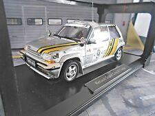 RENAULT 5 Turbo GT Rallye Bandama Ivoire 1989 #9 Oreille Diac elf Norev 1:18