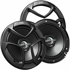 Car Speakers JVC 6.5-Inch 2-Way Audio Systems 300 Watts Rear or Door Speakers