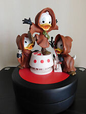 Extremely Rare! Walt Disney Donald Duck The Nephews Star Wars Statue LE of 1977