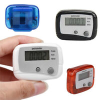 Portable Outdoor Walking Jogging Counting Distance Step Counter Pedometer Hot