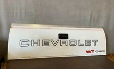 1988-2000 GMC Chevy Silverado C1500 K1500 Truck Tailgate Rear Hatch White OEM