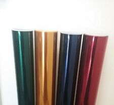 PROLINE WINDOW FILM BLUE GREEN YELLOW RED COLOR GRAPHICS DECORATIVE AUTO TINT
