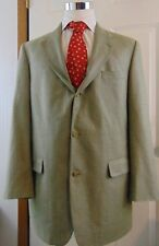 Brooks Brothers Sport Coat Mens 42L Houndstooth 53% Silk 47% Wool Jacket
