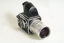 Hasselblad 500 C 50mm F4, a12 back, prism, BARGAIN COSMETICS, WORKING