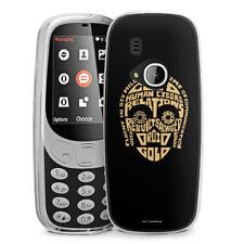 Nokia 3310 2017 Silicona Funda Case Handy-c3po typo