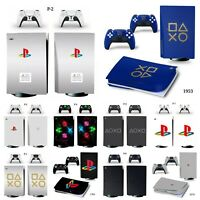 PlayStation Style (10 Options Avail) PS5  Skin Vinyl Sticker For PlayStation5