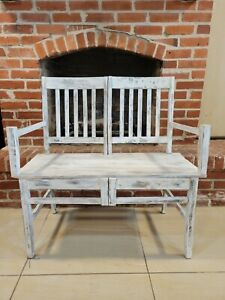 Wooden Hand Made Chair Bench