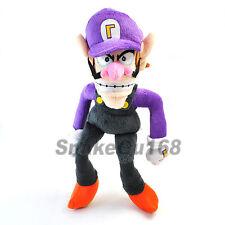 "New Super Mario Bros 12"" WALUIGI Plush Doll Toy+MT103"