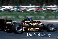 Ronnie Peterson JPS Lotus 79 sueco Grand Prix 1978 fotografía 3
