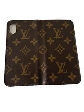 Genuine Louis Vuitton iPhone X Phone Case  Monogram Canvas
