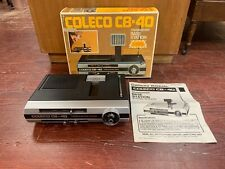 Coleco Cb-40 Radio Base Station 1977 in Original Box opened but unused untested