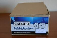 KENWOOD NEXEDGE SINGLE UNIT RAPID CHARGER ENDURA Model # TWC1-KW4