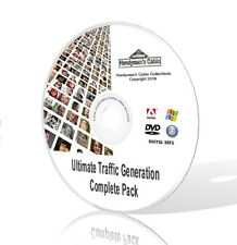 Website Traffic Generation Complete Pack - Video Courses, Guides and More! DVD