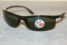 Ray-Ban Gafas de sol polarizadas RB4085 601/9A marco Negro Con Verde Oscuro Polarizado