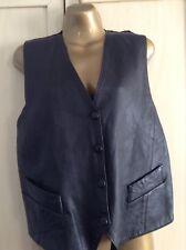 Vintage Genuine Leather Waistcoat