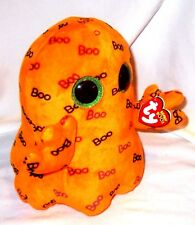 Halloween Ghost Goblin Big Eyes Ghoulie TY Brand  large 9 inch tall Boo