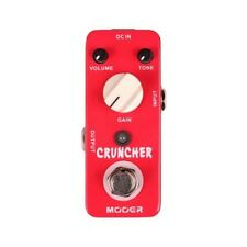 Mooer Cruncher Distortion Micro Series True Bypass Guitar Effects Stompbox Pedal