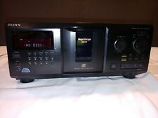 Sony CDP-CX355 300 Disc CD Player with remote and manual - new belts