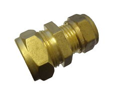 3/8 Inch 5lb Lead Pipe to 15mm Copper Pipe Coupler / Connection