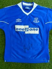 new concept ec9cc 012f5 Signed Everton Football in Signed Premiership Player/Club ...