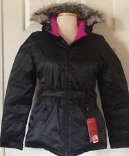 NWT Womens The North Face Hyvent 550 Fill Down Parka Greenland Jacket Black S