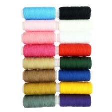 16Pcs Sewing Machine 100% Polyester Thread for Coat Jeans Sewing Accessories
