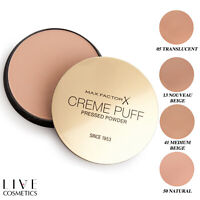 Max Factor Creme Puff Pressed Compact Face Powder **CHOOSE YOUR SHADE**